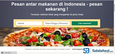 Pengalaman Pesan Makanan Di FoodPanda Jakarta