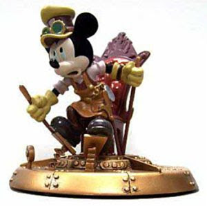 Mickey Mouse Mechanical Kingdom Figure Figurine Statue Steampunk Walt Disney World WDW Disneyland