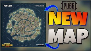Pubg Mobile  New Map- Venezia 2.0  New Upcoming  Update
