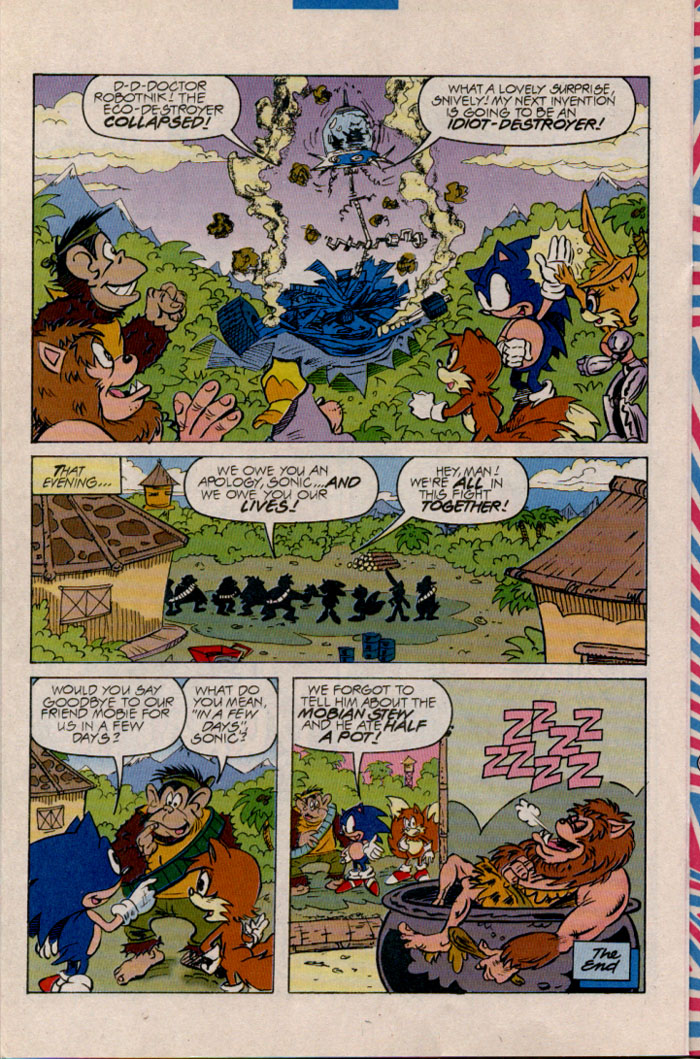 Read online Sonic The Hedgehog comic -  Issue #45 - 17