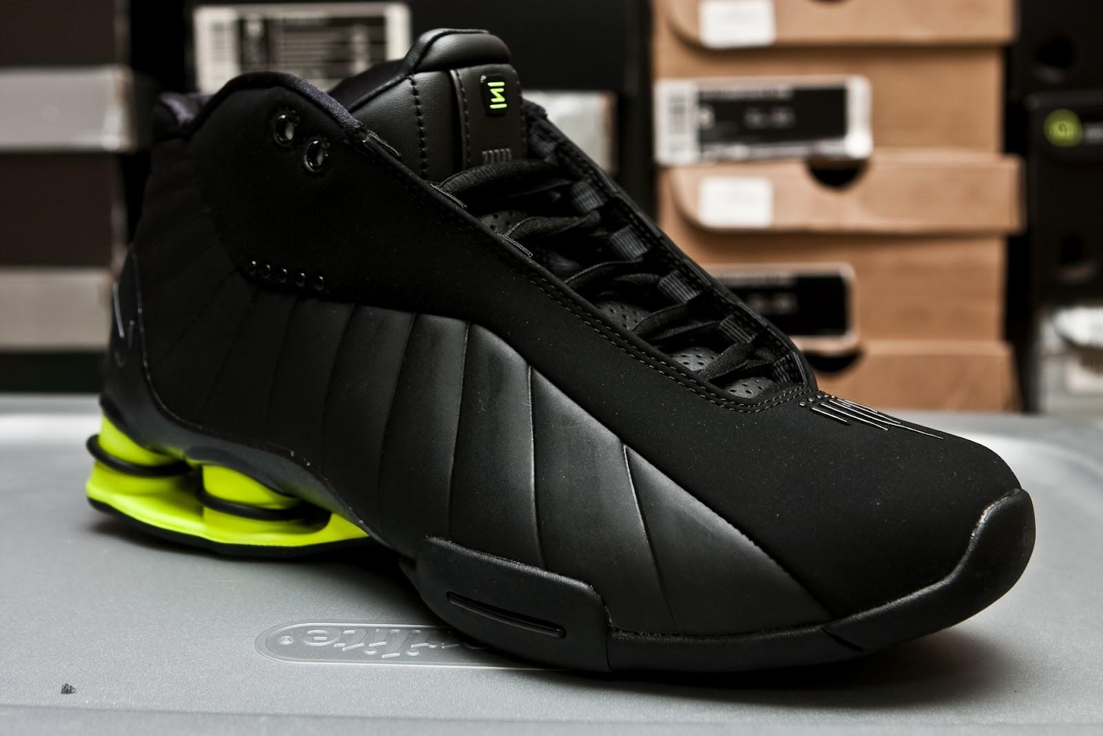 sports shoes 8ab4c a70d6 ... Shox BB4 Vince Carter - Black Volt ...