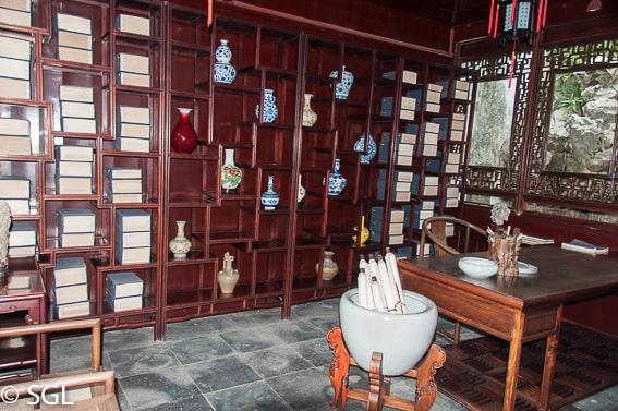 Suzhou, pabellon del jardin del pescador. China