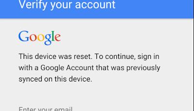 untuk melewati verifikasi Google