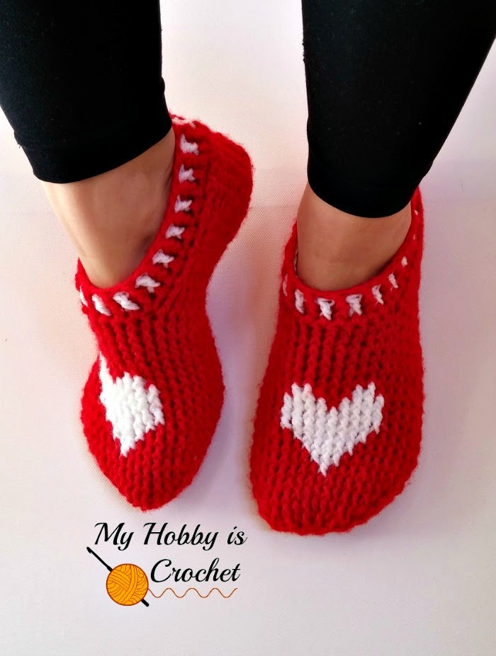 Over 100 Free Crocheted Slippers Patterns At Allcrafts