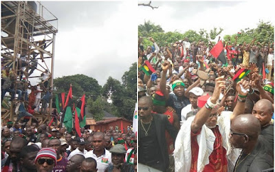 It's either I die while Installing Biafra, we don't want restructuring - says Nnamdi Kanu