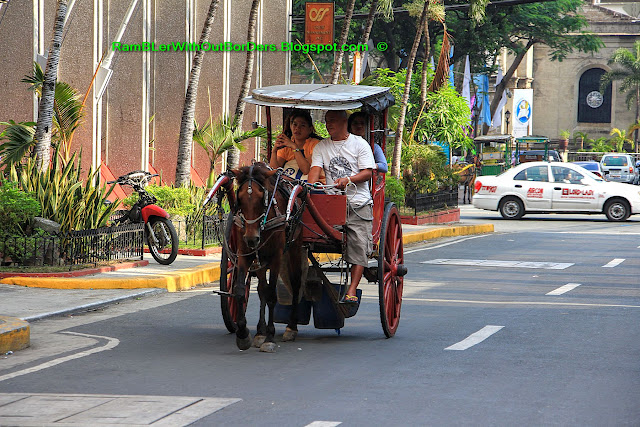 horse buggy ride, Intramuros, Manila, Philippines