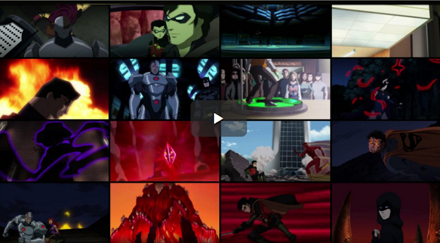 Justice League vs Teen Titans (2016) Bluray Subtitle Indonesia