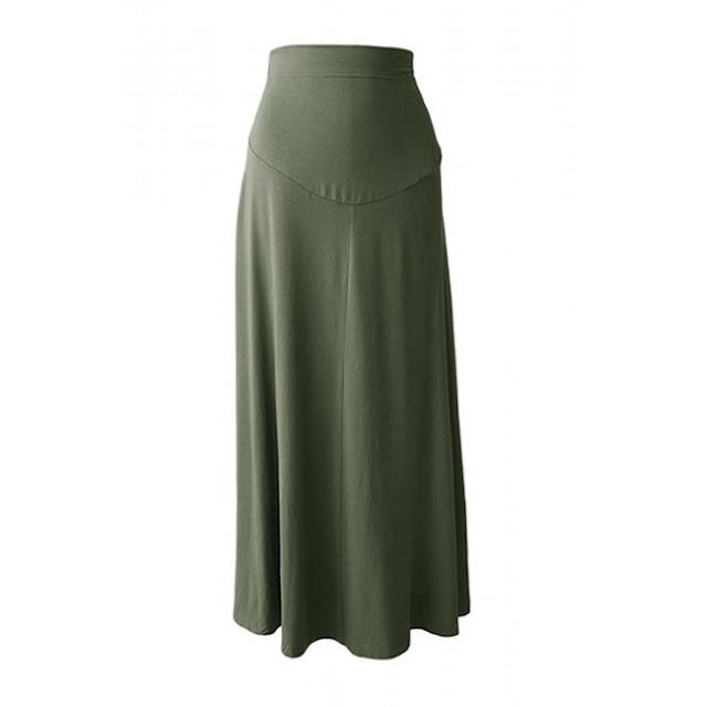 skirt mengandung cotton selesa