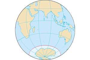 Concepto, definición del Círculo Polar Antártico