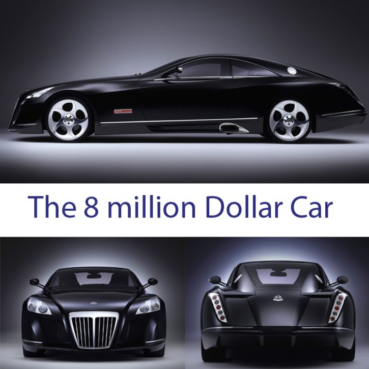 The Super Cars: Maybach Luxery Cars