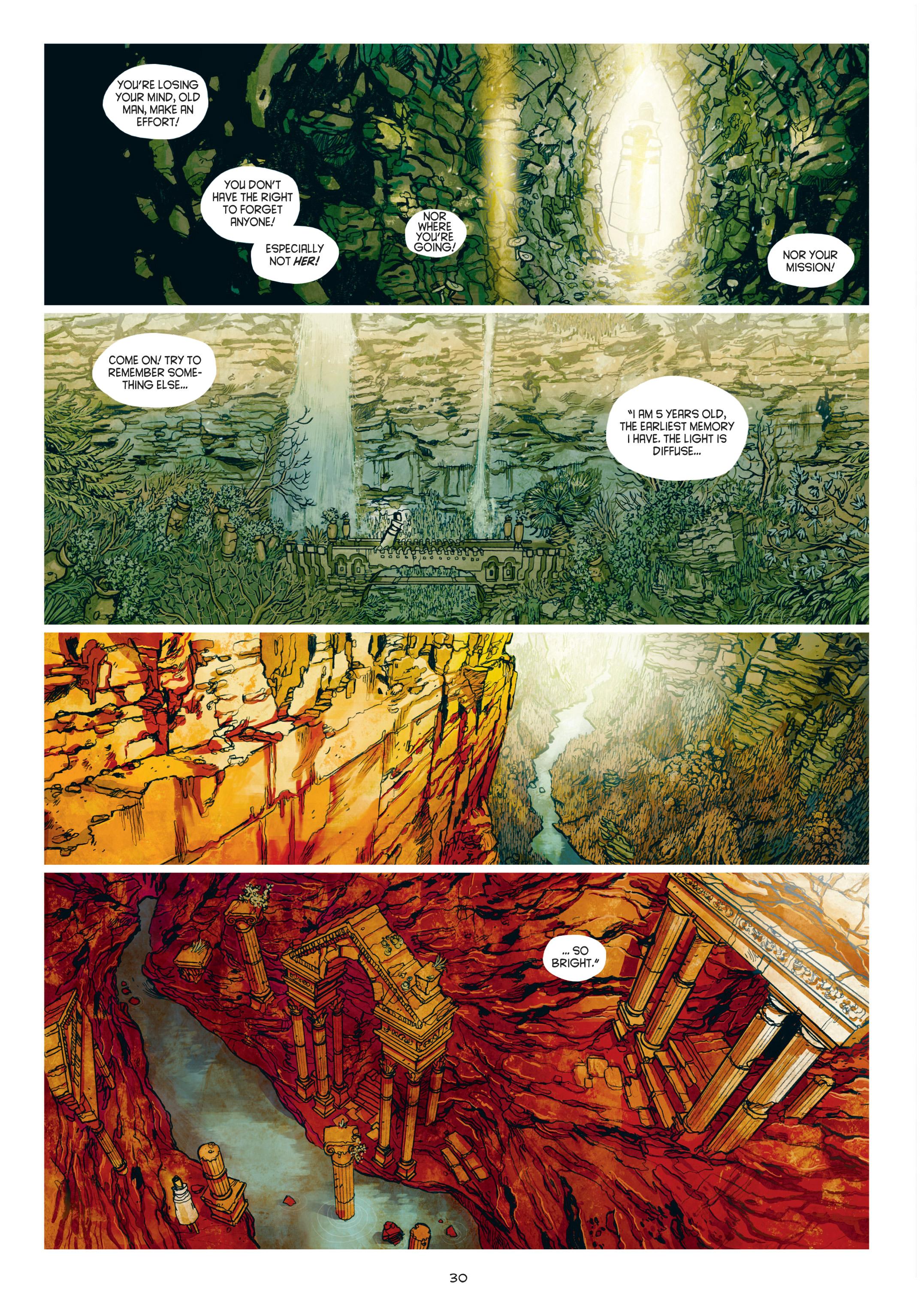 Read online Adrastée comic -  Issue #1 - 31
