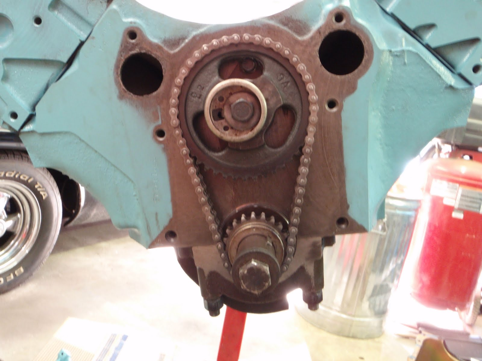 on Pontiac Straight 8 Engine Parts