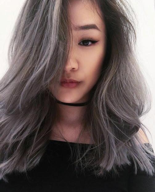 hair dye fall smoky