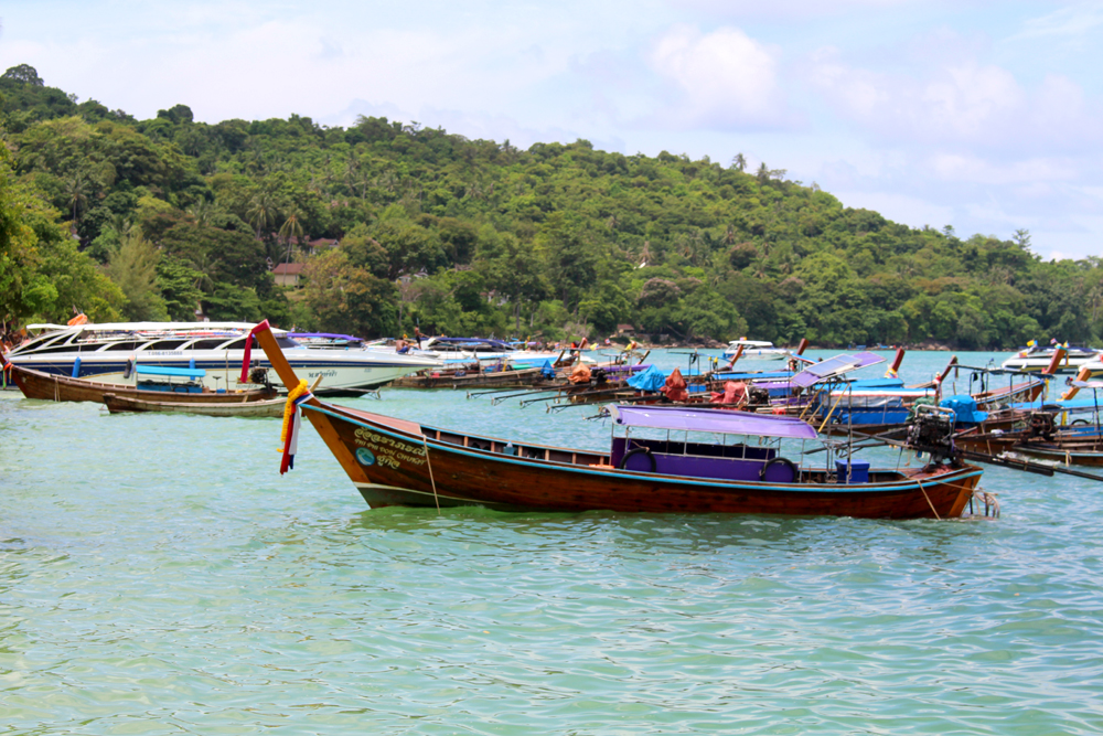 Thailand boat trip | turquoise waters and beautiful nature | UK travel blog
