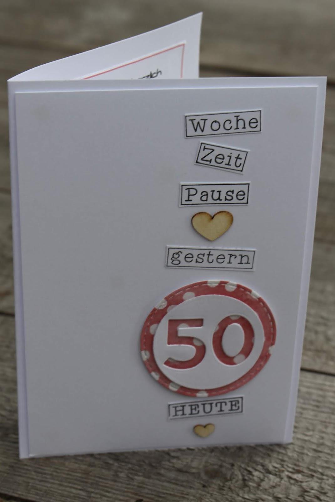 Title Mit Bildern Karten Basteln 50igster Geburtstag Karten