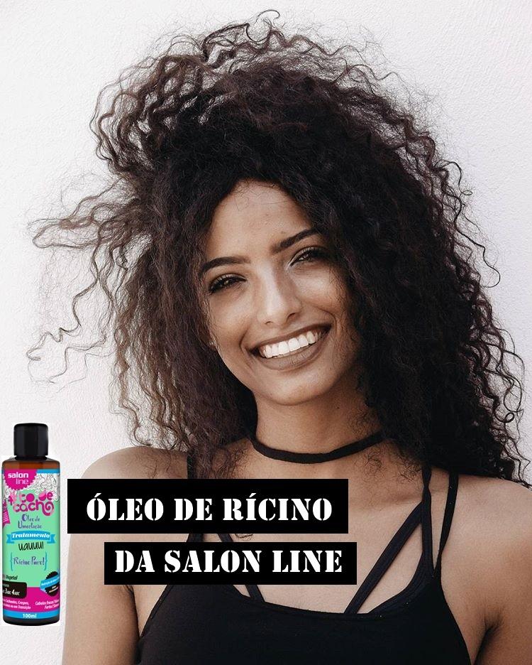 leo de Rcino Salon Line  Crescimento Capilar
