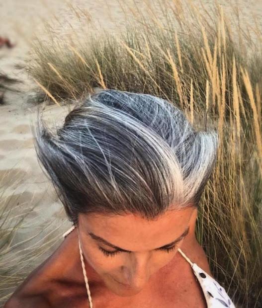 women didn't dye gray