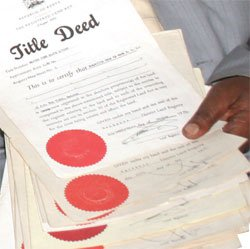 Lenders who give loans against title deeds in kenya
