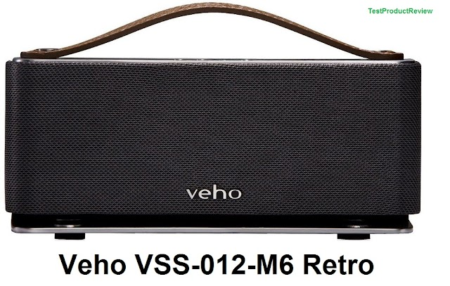 Veho VSS-012-M6 Retro portable wireless Bluetooth speaker for iPhone,Android, iPad and iPod