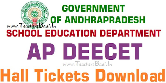 AP DEECET,Hall Tickets,DEECET-AP Exam Date