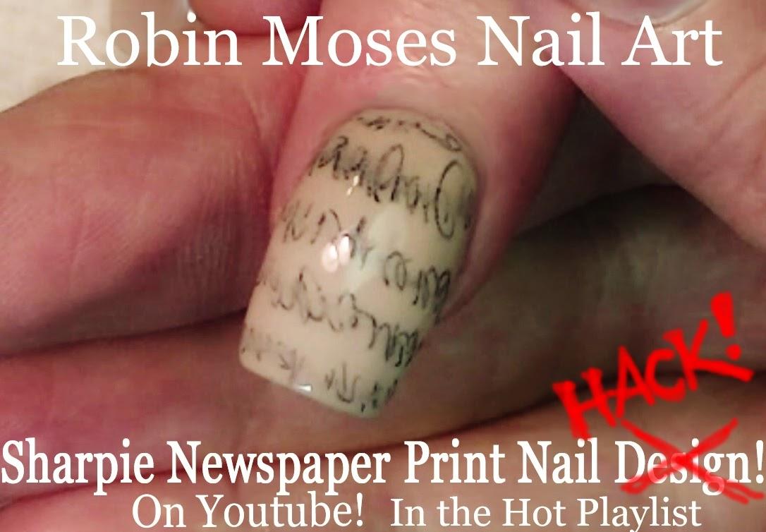Nice Sharpie Pens Nail Art Collection - Nail Art Ideas - morihati.com