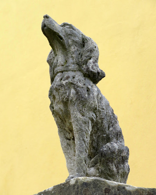 Sculpture of a dog, Via dell'Ambrogiana, Livorno