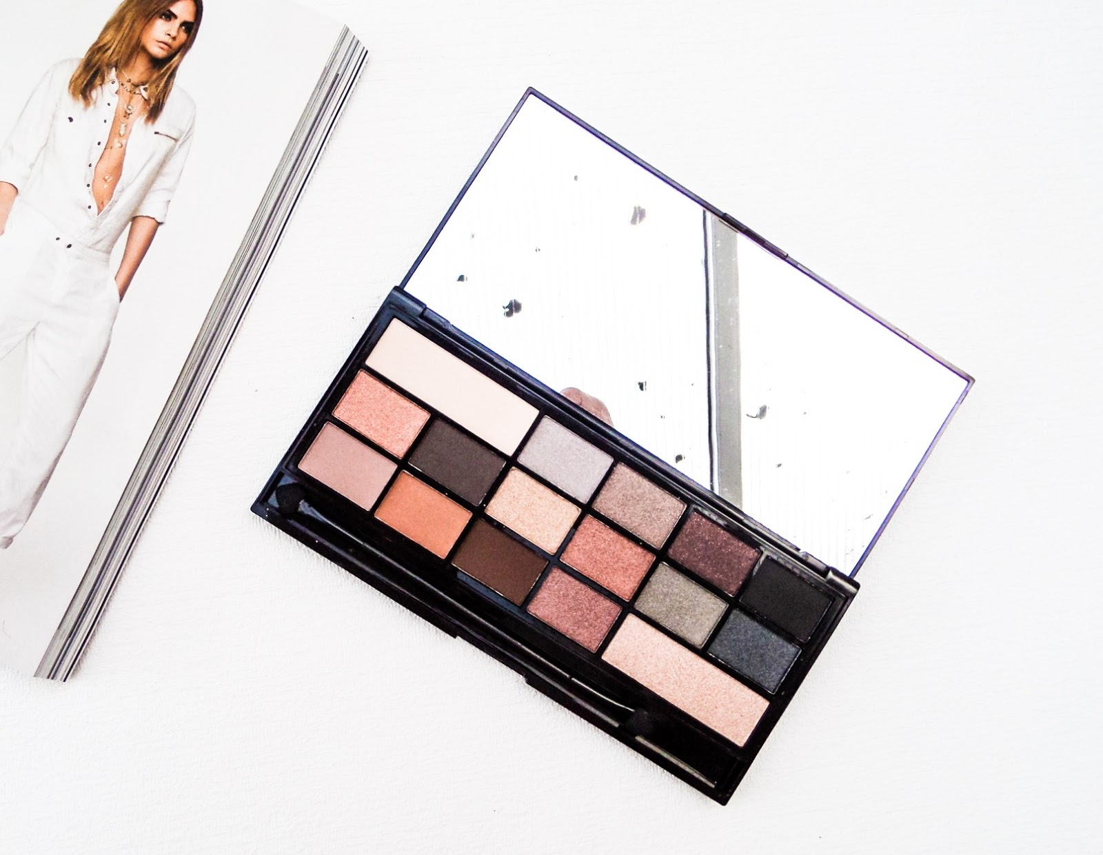 Makeup Revolution I ♡ Makeup Naked Underneath Palette Review