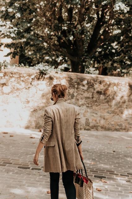 blaizer cuadros blog de moda barcelona