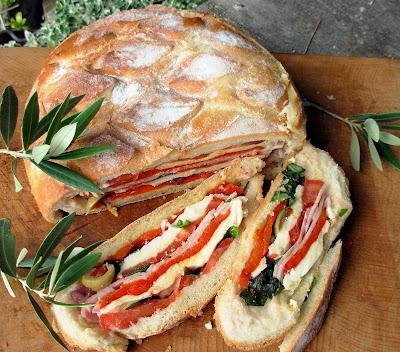 Pan Pagnat - French Picnic Sandwich