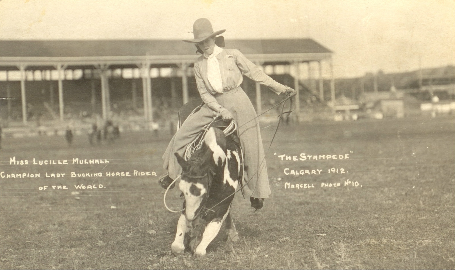 Rare Pictures Of Lucille Mulhall The First Cowgirl Of