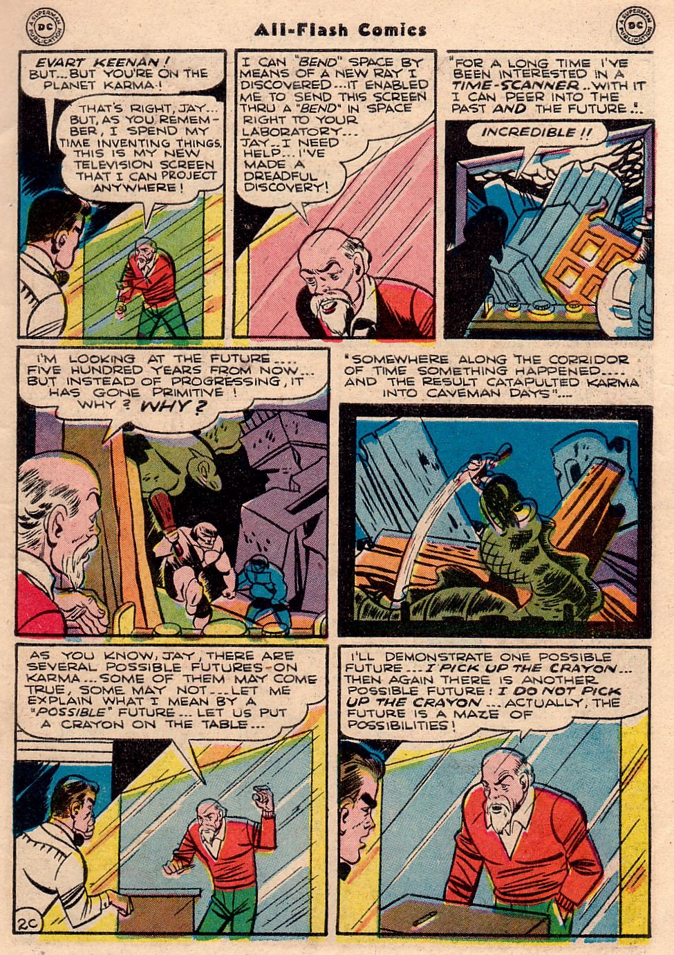 Read online All-Flash comic -  Issue #23 - 38