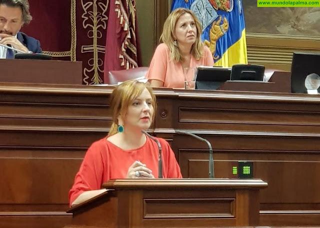 Nieves Lady Barreto obtiene el apoyo unánime del Parlamento para pedir al Estado una base permanente de helicópteros Kmov en las islas