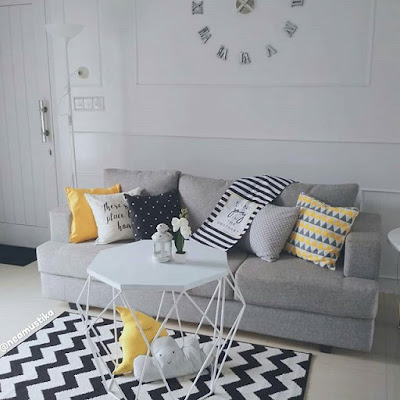dekorasi ruang keluarga kecil
