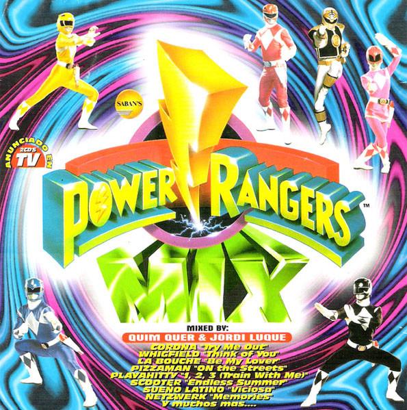 Music Connection : Power Rangers Mix - Varios interpretes