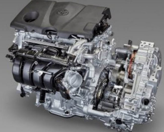 2018 Toyota Camry Prototype Engine