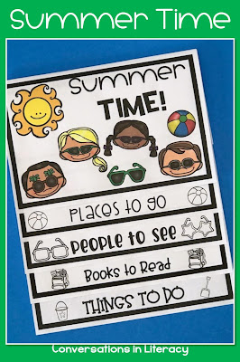 End of the Year and Summer Time activities and ideas