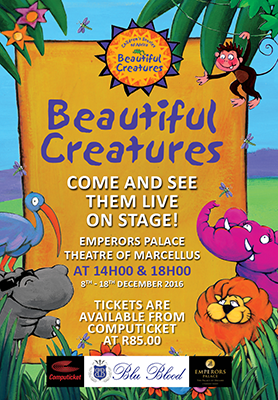 @BluBloodSA Brings #BeautifulCreatures Children Stage Show @EmperorsPalace