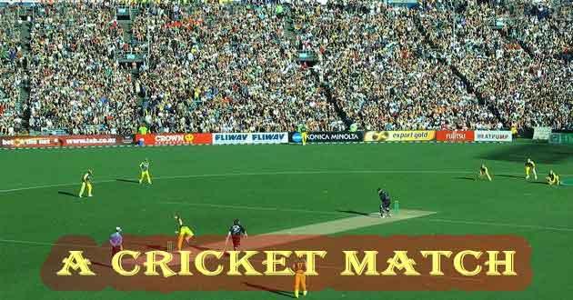 A Local Cricket Match