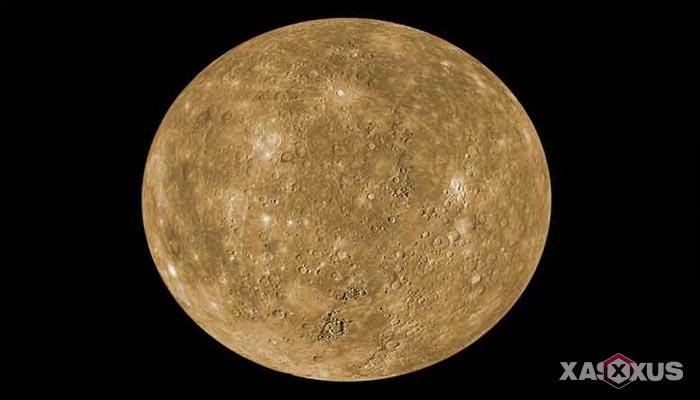 Gambar planet merkurius - urutan planet ke-1