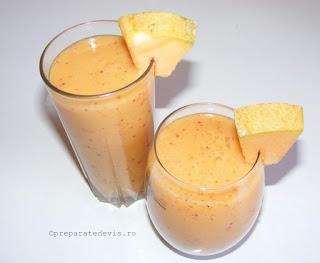 Smoothie de pepene galben retete culinare,