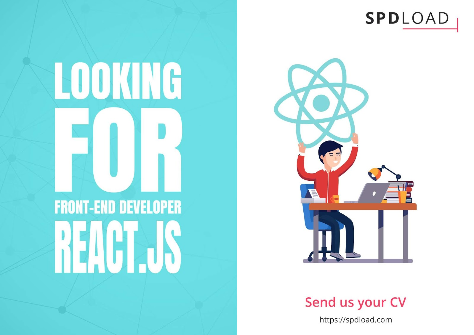 SPDLOAD looking for Front-End developer onboard (React.JS)
