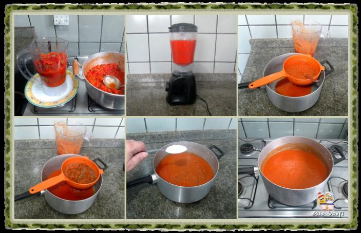 Molho de tomate básico 5
