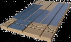 inertie plancher chauffant maison ossature bois le plancher chauffant par caleosol. Black Bedroom Furniture Sets. Home Design Ideas