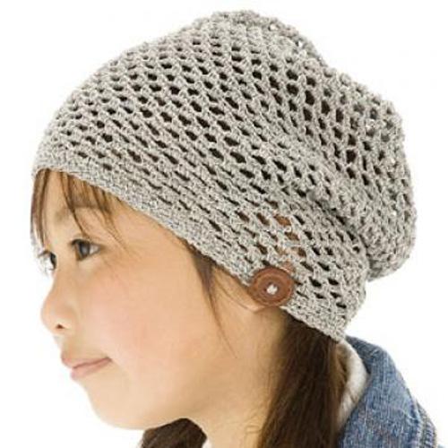 Girly-Style Hat - Free Pattern
