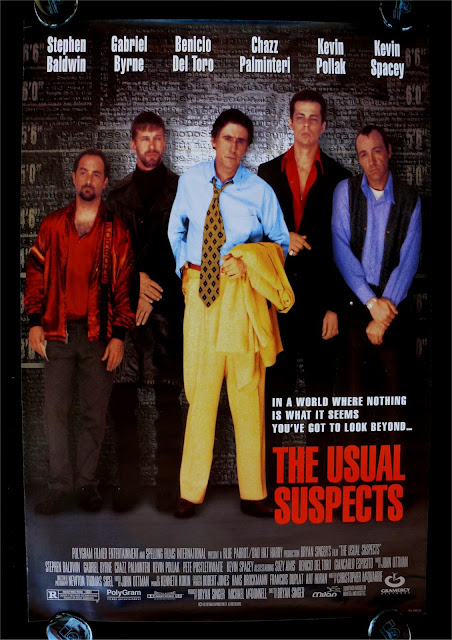 The Usual Suspects, Poster, Bryan Singer, Gabriel Byrne, Kevin Spacey