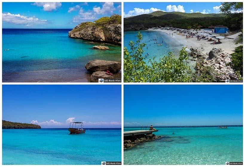 Praias de Curaçao, primeira parada do navio - Diário de Bordo: cruzeiro pelo Caribe