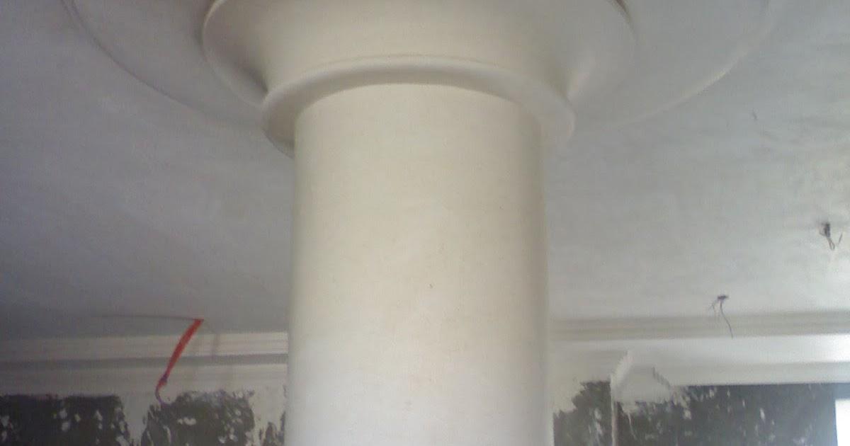 Colonnes et des socles de pl tre ms timicha d coration for Colonne platre decor