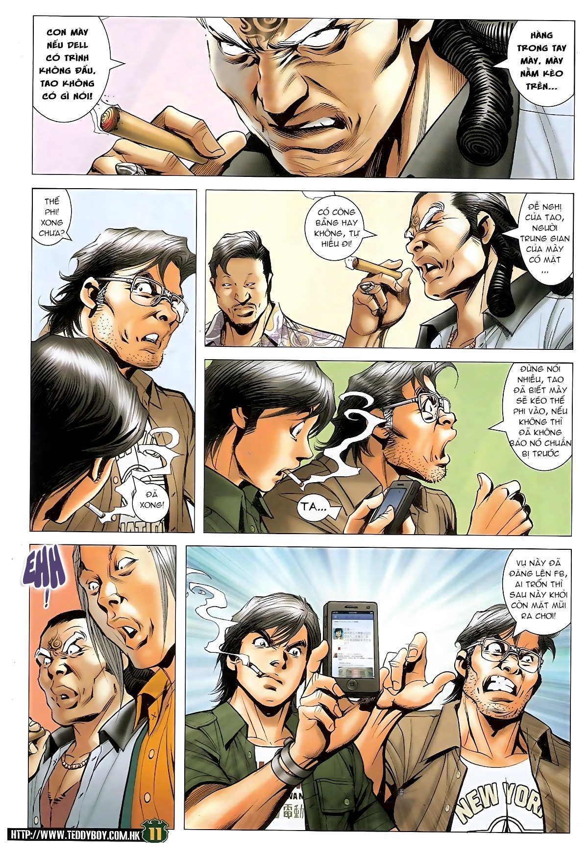 Người Trong Giang Hồ - Chapter 1549: Chơi bẩn - Pic 10