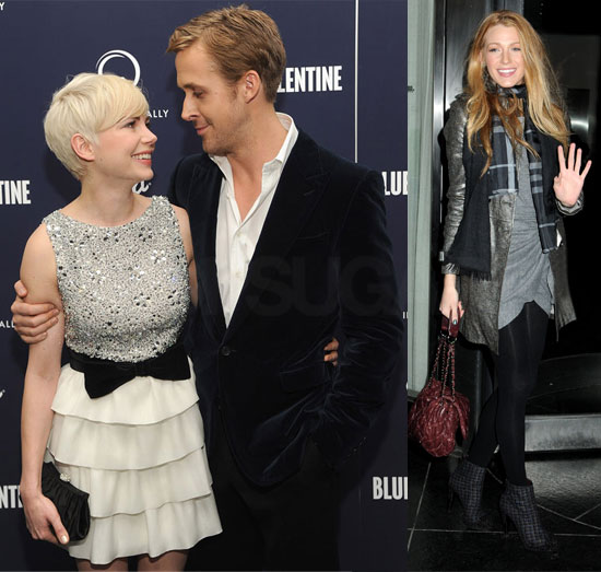 Ryan Gosling And Blake Lively ~ Top Actress Gallery