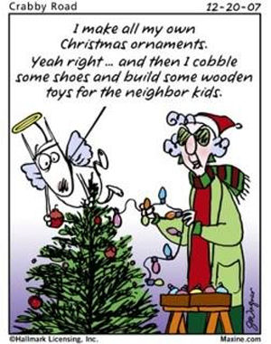 Plowing Through Life: Maxine Christmas Cartoons (Part 2)